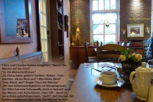 Teil 12 Chica und Checker im Café